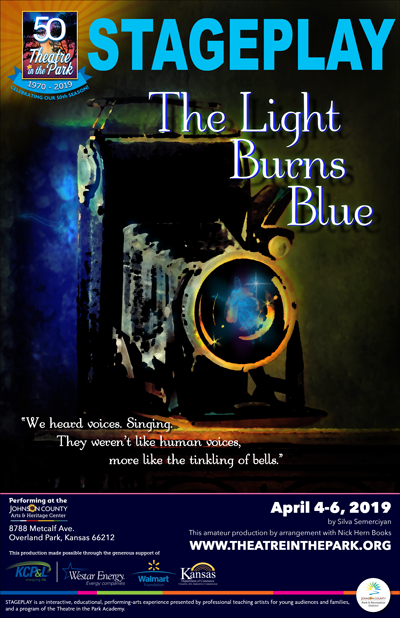 show poster for the light burns blue