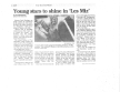 "Olathe News - Article on Les Miserables - School Edition<br /> ""Young Stars Shine...""<br />"