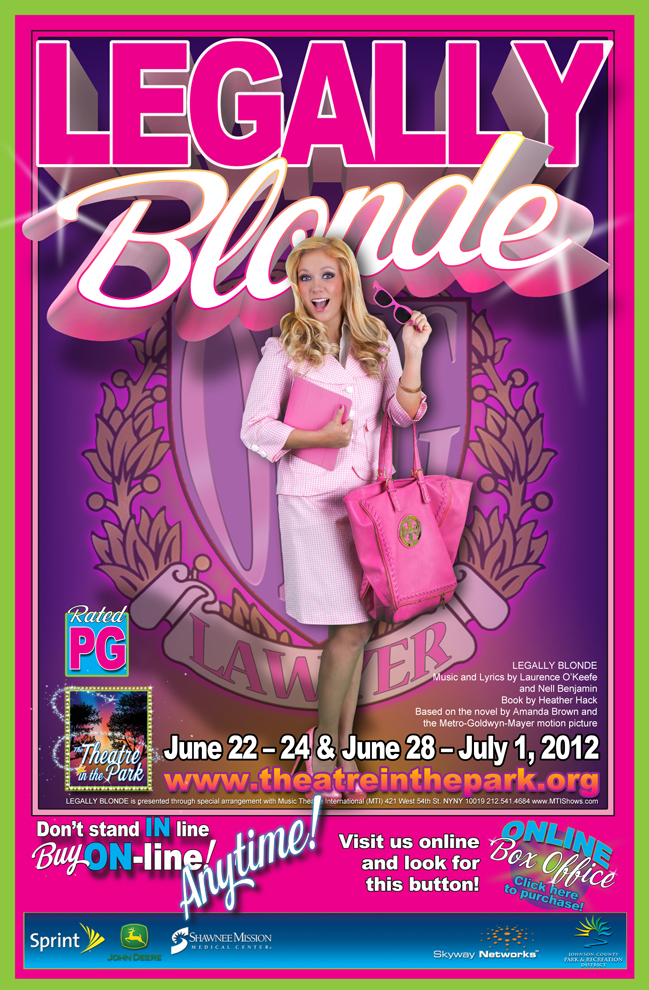 Show Poster - Legally Blonde