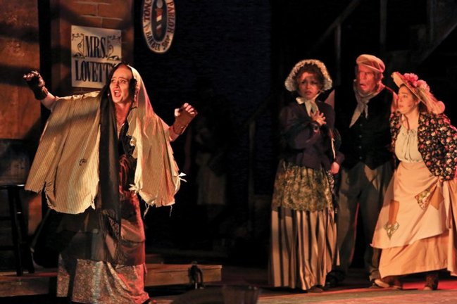 Sarah Dothage and Company<br /> <em>Sweeney Todd</em> - The Demon Barber of Fleet Street • 2012