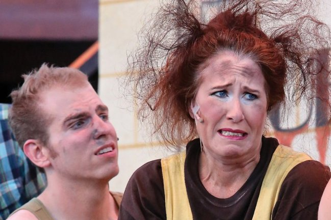 Michael Allen and Trudy Hurley - <em>Urinetown </em>• 2012