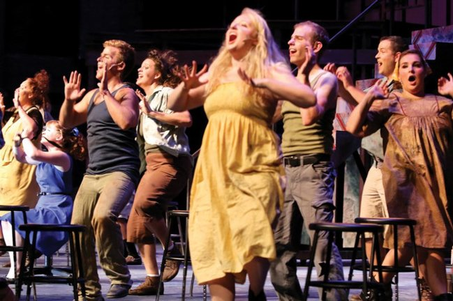 The Company - <em>Urinetown </em>• 2012