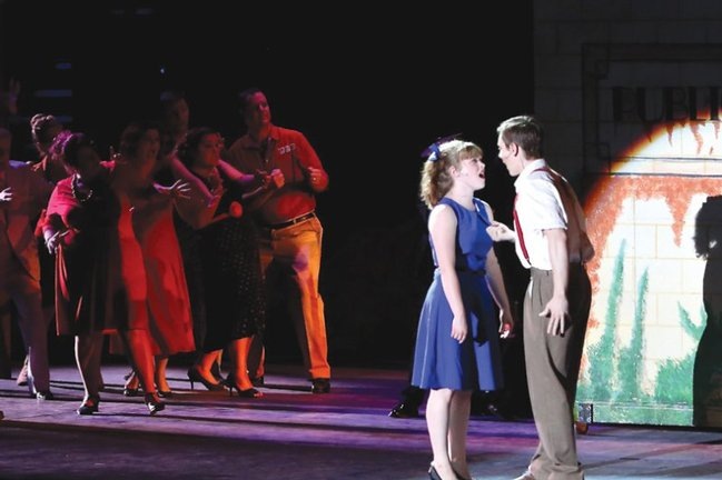 Alyssa Cooper, Eric Geil and Company - Urinetown • 2012