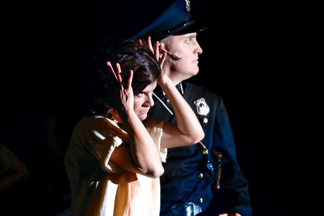 Jennifer Cannady Thezan and Kipp Simmons - <em>Urinetown </em>• 2012