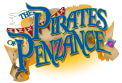 PIRATES OF PENZANCE - Title treatment